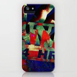 El Mano Del Dio Dos iPhone Case