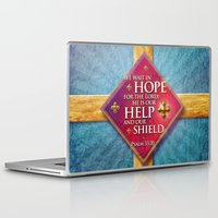 shield Laptop & iPad Skins featuring Our Shield by Peter Gross