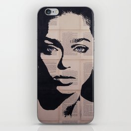 Anouchka blueyes iPhone Skin