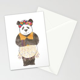 Namaste panda Stationery Cards