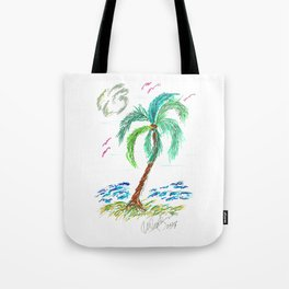 """Beach Afternoon"" Tote Bag"