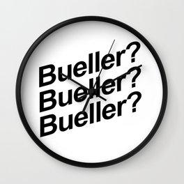Bueller? Wall Clock