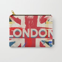Vintage London Union Poster Carry-All Pouch