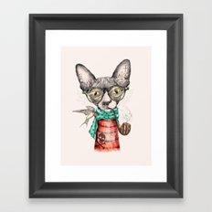 Mr.Peterbald Framed Art Print
