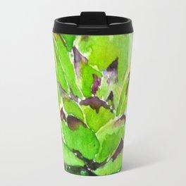 green succulent 3 Travel Mug
