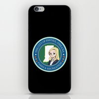 parks iPhone & iPod Skins featuring Parks & Rec. by BlackRose Designs
