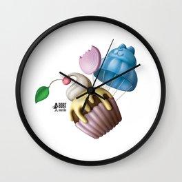 Sweets UP! Wall Clock