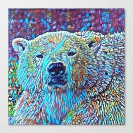 ColorMix Polar Bear Canvas Print