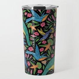 Parrots and Hummingbirds I Travel Mug