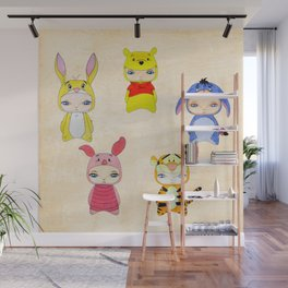 A Boy - Winnie and friends Wall Mural