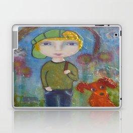 Anton & Gumbo - Whimsies of Light Children Series Laptop & iPad Skin