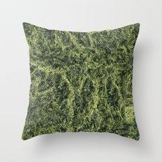 Plant Matter Pattern Throw Pillow
