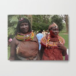 Turkana Women Metal Print