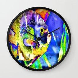 Fish Snack Wall Clock