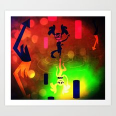 I'm Feeling good Art Print