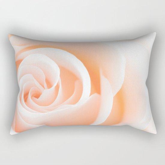 Rose´s heart I- Beautiful roses flower in pink Rectangular Pillow