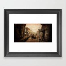 You See Bones Framed Art Print
