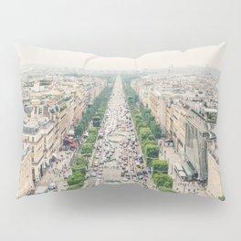 Summer at the Jardin de Tuileries, Paris, France Pillow Sham