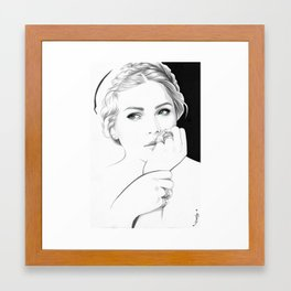 """Esti"" Framed Art Print"