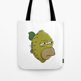 Homer Lemonhead Tote Bag