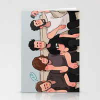 boys Stationery Cards featuring boys by skyberia