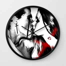 Love from Believers Wall Clock