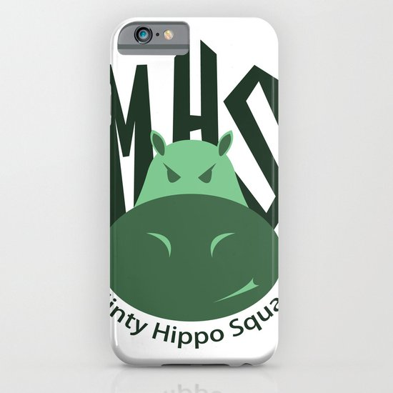 Minty Hippo Squad iPhone & iPod Case