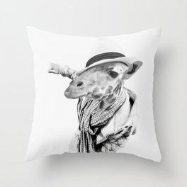 JAFFAR Throw Pillow