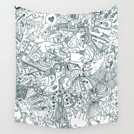 Graphics Wall Tapestry