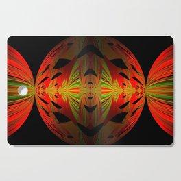 Orange Black Green Design Cutting Board