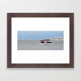 Sea Lion Aft - Life on the San Francisco Bay Framed Art Print
