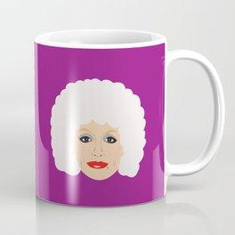 Dolly Parton - cartoon style portrait Coffee Mug