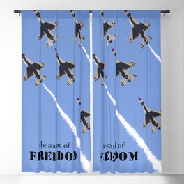 The Sound Of Freedom Blackout Curtain