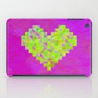 valentines iPad Cases featuring Neon Valentines by Fimbis