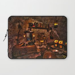 Black Magicians Room Laptop Sleeve