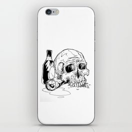 Skull Abuse  iPhone Skin