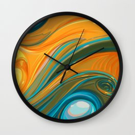 New Years Wall Clock