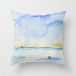 Venice California Throw Pillow