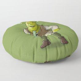 Ogre Smoking Floor Pillow