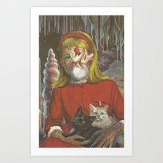 Heathen Child  Art Print