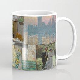 Artist Claude Monet Million Dollar Painting Collage Quilt Coffee Mug