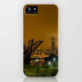 Chicago Bee hive iPhone Case