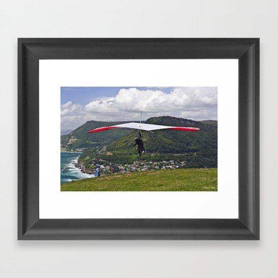 Flight for Two  Framed Art Print