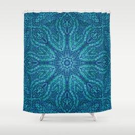 Mehndi Ethnic Style G455 Shower Curtain