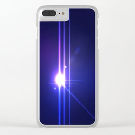 Bright Light Clear iPhone Case