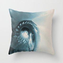 Sea Shell Abstract Throw Pillow