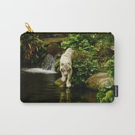 Tiger Reflection Carry-All Pouch