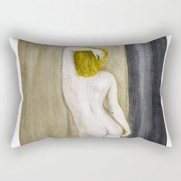 Her back to us Rectangular Pillow