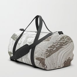 Silver and lashed glam Duffle Bag