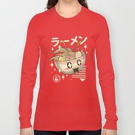 Kawaii Ramen Long Sleeve T-shirt